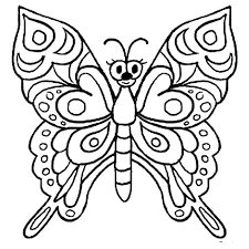 complex motif butterfly coloring pages for coloring