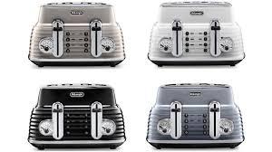 Delonghi Four Slice Toaster Get The Best Value On The Delonghi Scultura Bronze 4 Slice Toaster