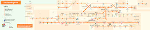 Metra Rail Map London Overground Train Rail Maps