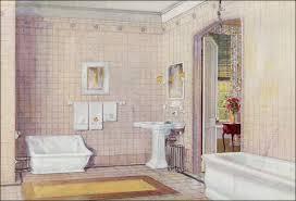 Crane Bathroom Fixtures 1922 Crane Plumbing Fixtures Early Revival Bathroom