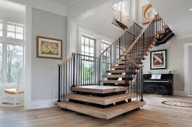house stairs beach house delight beach style staircase dc metro by
