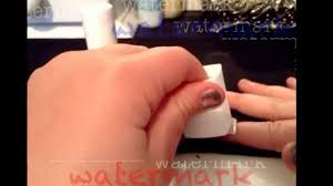 how to apply magnetic nail polish from essie youtube