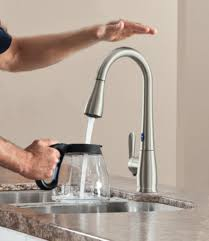 faucets kitchen extraordinary moen kitchen faucet hands free