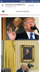 someone edited some paintings in the oval office album on imgur