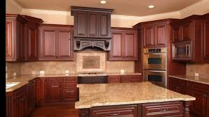 what color granite looks best with cherry cabinets kitchen backsplash ideas with cherry cabinets