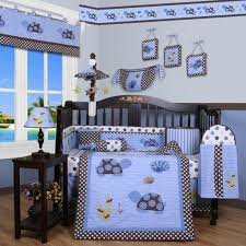 baby boy sports bedroom ideas white table lamp comfy quilt