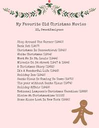 my favorite old fashioned christmas movies emelyne