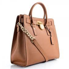 light brown mk purse michael kors tan saffiano hamilton tote women s bag