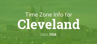 Ohio Time Zone Map by Daylight Saving Time Dates For Usa U2013 Ohio U2013 Cleveland Between 2016