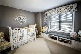 inspired valance patterns in laundry room contemporary with