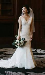 preowned wedding dress jim hjelm 8800 882 size 2 used wedding dresses