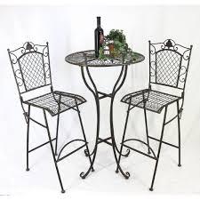 Penderie Fer Forge by Dandibo Table Haute Et 2 Tabourets De Bar Set 20832 33 Table Bar