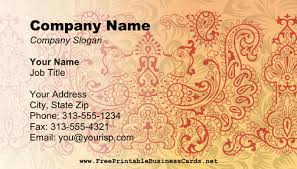 mehndi card mehndi business card business card