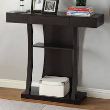 Entryway Table With Drawers Furniture Contemporary Narrow Console Table For Entryway