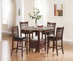 Small Round Kitchen Table by Small High Top Round Kitchen Table With Rattan Basket Storage And
