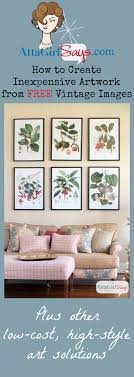 cheap art prints where to find inexpensive antique botanical prints vintage