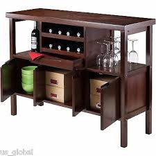 modern dining room sideboard buffet server console table bar wine