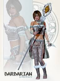 3d Fashion Design Software Barbarian For V4 3d Models And 3d Software By Daz 3d