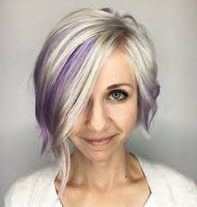 short hairstyles with peekaboo purple layer 100 mind blowing short hairstyles for fine hair platinum bob