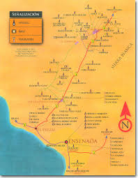 Ensenada Mexico Map by Local Venues Baja U0026 Valle De Guadalupe Notes