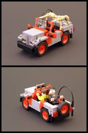 jurassic park car lego jurassic park jeep a photo on flickriver