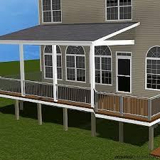 Patio Decks Designs Deck Roof Designs Best 25 Covered Deck Designs Ideas On Pinterest