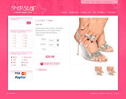 templates for website free download in php shop star 2 color template inc php shopping cart by dtbaker