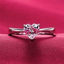 girl heart rings images Quality heart shape 1ct confessions sona synthetic diamant ring jpg