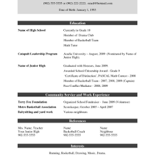 resume sles for freshers free download pdf swia co just another best resume template page 4