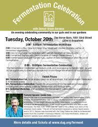 Urban Gardens Denver - fermentation celebration denver urban gardens