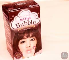 sachets of hair colours 2015 make up and hair muah etude house bubble hair coloring in
