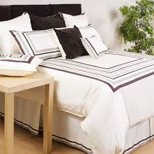 bedding simple black and white duvet covers queen 100pct cotton material solid striped pattern on closure