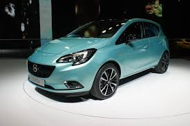opel paris new opel corsa hits paris debuts alongside claudia schiffer