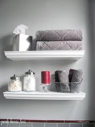 Decorating Bathroom Shelves Best 25 Bathroom Staging Ideas On Pinterest Bathroom Vanity