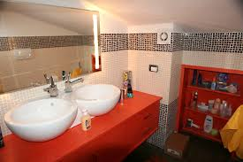 arredo mansarda moderno msl polini arredamenti personalizzati bagno adattamento mansarda