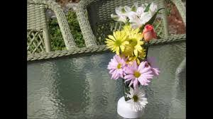 Umbrella Hole Ring Set by Nobrella Flower Vase Easily Fits In Your Patio Table Umbrella Hole