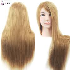 Hair Styling Classes Sale 26inch Blonde Hairdressing Mannequin Head Salon Hair