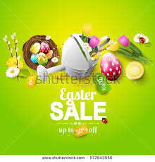 easter eggs sale easter sale stock images royalty free images vectors
