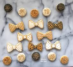 new years bow tie new years bowtie sugar cookies