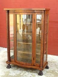 antique display cabinets with glass doors china cabinet glass doors hopblast co