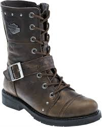 womens boots distressed leather harley davidson reg s monetta leather lifestyle boots
