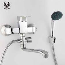 Bathtub Faucet Drips 2016 Models Zinc Alloy Shower Faucet Fixing Bracket Polishing