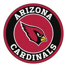 3 Round Area Rugs by Cardinals Logo Roundel Mat 27