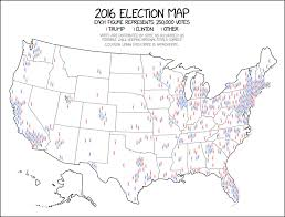 chicago voting map 1939 2016 election map explain xkcd