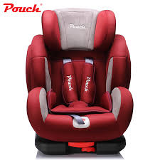 siege enfant isofix pouch luxury pu leather child safety car seat for 9 months 12 years