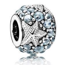 pandora oceanic blue starfish charm 791905czf sale clearance