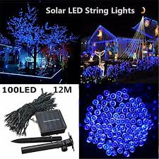 solar led christmas lights outdoor sale outdoor led christmas lights 100led 12m color led solar