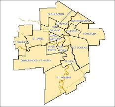 winnipeg map winnipeg ward map