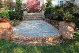 Dry Laid Bluestone Patio by Patio U0026 Walk Designs Revolutionary Gardens