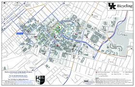 uky map of kentucky of kentucky directions